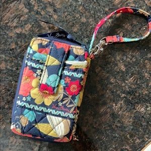 Vera Bradley keychain wallet